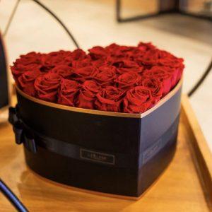 caja flores luxury