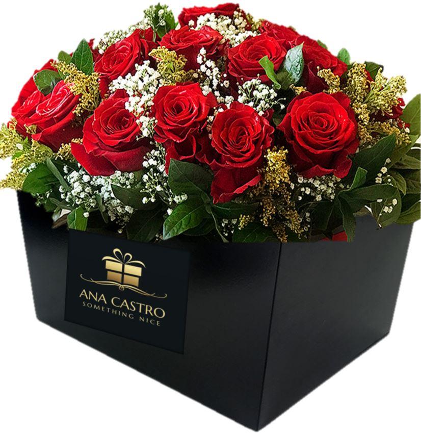 caja flores premium