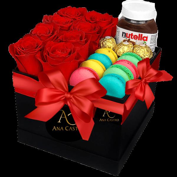 nutella y flores